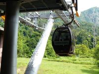 Langkawi cable car base station
