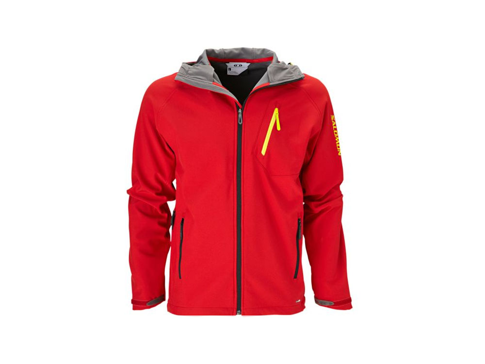 Salomon heren softshell jack