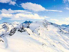Grossglockner- hoogste berg van Oostenrijk