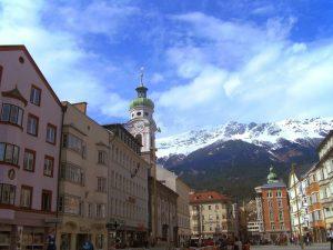 Innsbruck hoofdstad van de alpen