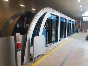 Trein Hungerburgbahn Innsbruck