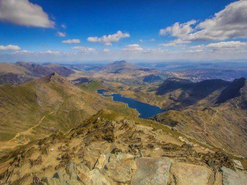 Snowdon uitzicht