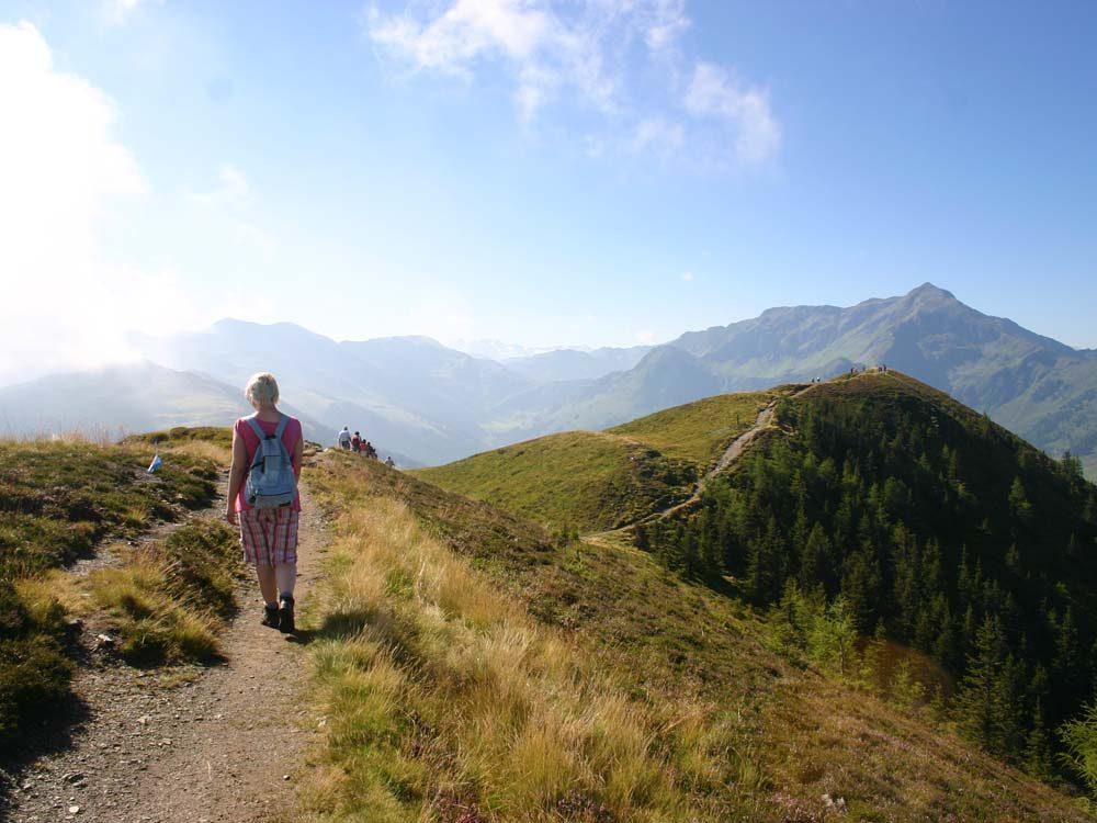Wandelrugzak in de bergen