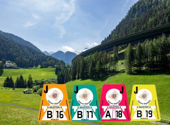 Autobahnvignet Oostenrijk