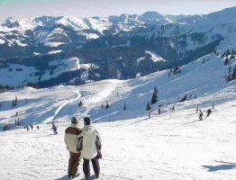 Skigebieden voor beginners
