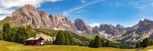 fotobehang Col Raiser Zuid Tirol