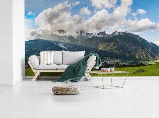 het mooiste fotobehang van de bergen